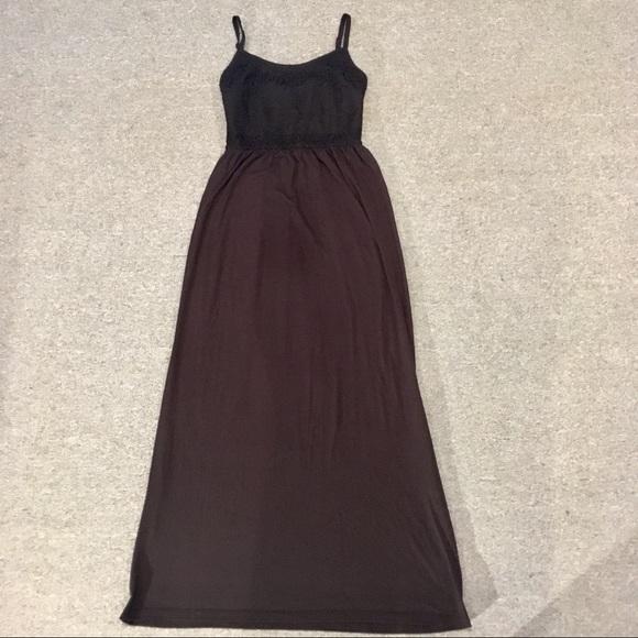 654d9b2c960f4e BONGO Dresses | Womens Sz M Black Lacetop Dress | Poshmark